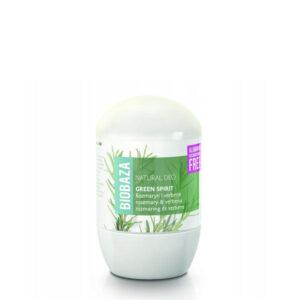 BIOBAZA naturalny dezodorant w kulce GREEN SPIRIT 50ml
