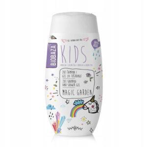 BIOBAZA KIDS 2w1 Magic garden szampon i żel pod prysznic 250ml