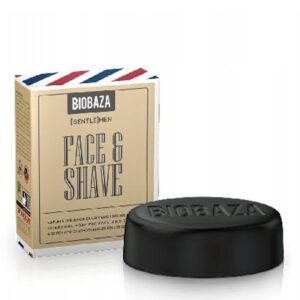 BIOBAZA czarne mydło Men Face & Shave 100g