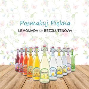 EFFERVE Lemoniada gazowana o smaku cytrynowym 750ml
