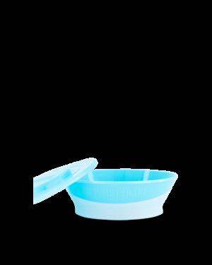 Twistshake miseczka z pokrywką 6M+ niebieska