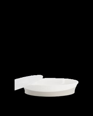 Twistshake talerzyk z pokrywką 6M+ 430ml biały