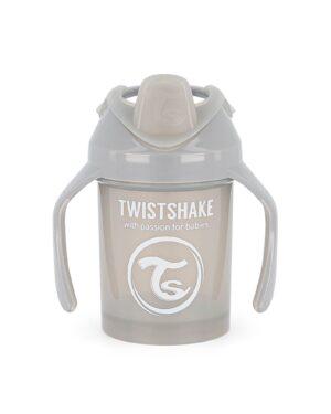 Twistshake kubek niekapek 230ml 4m+ szary
