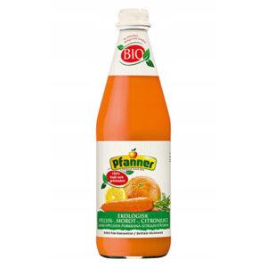 Pfanner sok 100% marchwiowy z pomarańczą 500ml