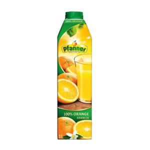 Pfanner sok 100% pomarańczowy 1L x 8 sztuk