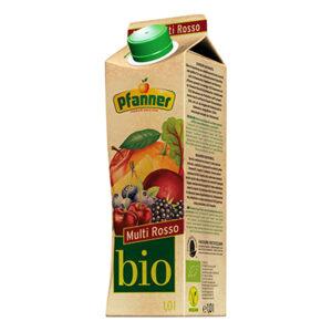 Pfanner BIO sok wieloowocowy z burakiem 1000ml