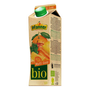 Pfanner BIO sok owocowo marchewkowy 1L