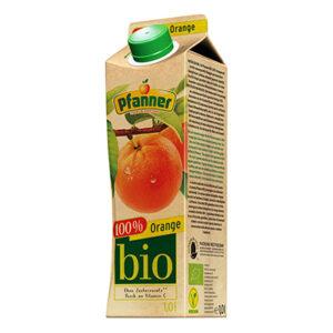 Pfanner BIO sok 100% pomarańczowy 1000ml