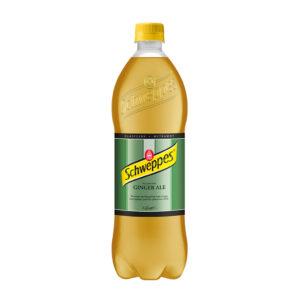 SCHWEPPES Ginger Ale 850ml Butelka