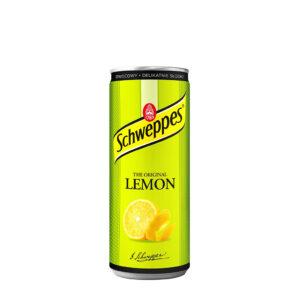 SCHWEPPES Lemon 250ml Puszka