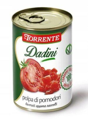 TORRENTE włoskie cięte pomidory bez skórki 400g