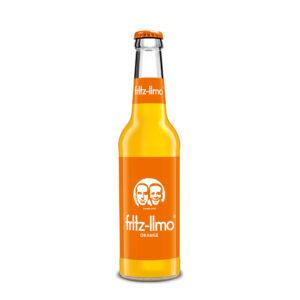 Fritz Limo napój o smaku pomarańczy 330 ml