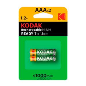 KODAK akumulatorki Ni-MH AAA 1000 mAh 2 szt.