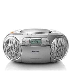 Philips radioodtwarzacz srebrny AZ127