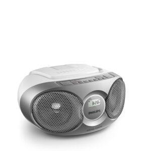 Philips radioodtwarzacz srebrny AZ215S