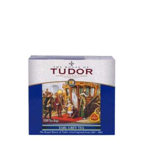 Tudor herbata czarna Earl Grey 100 torebek